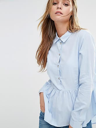 Chemise à basque - BleuJacqueline de Yong