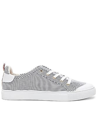 Lace Me Up Stripe Sneaker in White. - size 37 (also in 36,38,40) Jaggar