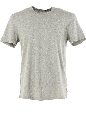 Camiseta de Hombre Baratos en Rebajas, Gris Claro, Algodon, 2017, 46 48 50 54 James Perse