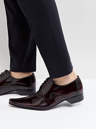 Jeffery West K106, Zapatos de Cordones Oxford para Hombre, Red (Burgundy Burgundy), 42 EU