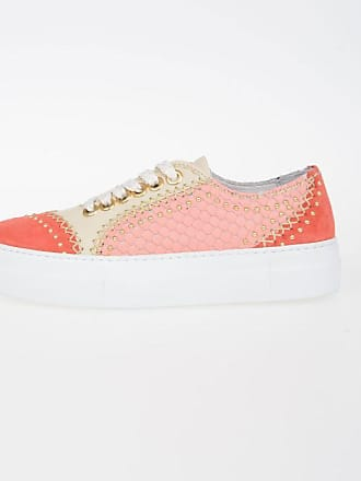 FIRE Leather Sneakers Reptile Print Spring/summer Just Cavalli