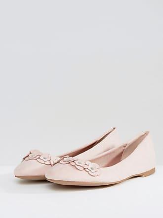Zapatos slippers con detalle floral de London Rebel London Rebel