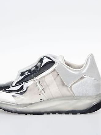 Leather and Fabric Sneakers with Transparent Covering Fall/winter Maison Martin Margiela