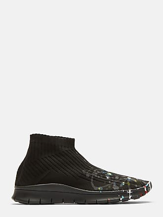 Maison MargielaLeather High-Top Platform Sneakers Gr. EU 42.5