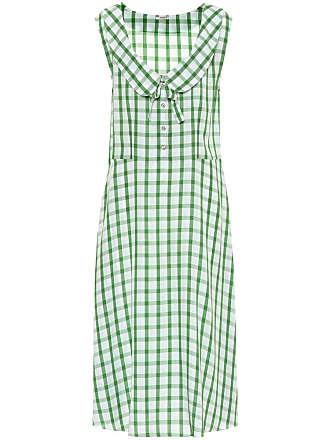 Stretch Grid Sleeveless Dress Fall/winter Miu Miu
