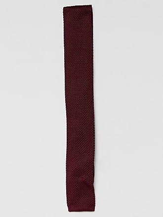 Farah Woven Tie in All Over Jacquard - Bordeaux 507 Farah