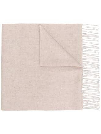 fringed shawl scarf - Nude & Neutrals N.Peal