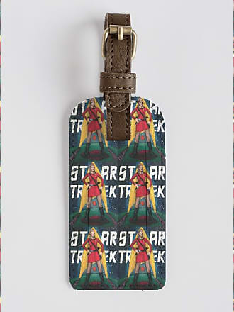 Leather Accent Tag - Celestial Trek by Nazim Artist Nazim Artist