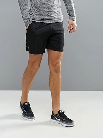 Solutions - Formgebende Shorts mit hoher Taille - Schwarz New Look