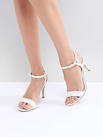 Twist Strap Mid Heel Sandal - Gold New Look
