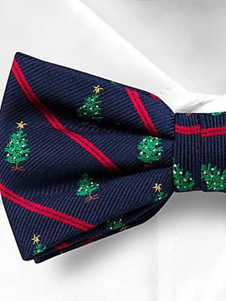 Pre tied bow tie - Blue Stripes - Notch VASILIJ Notch