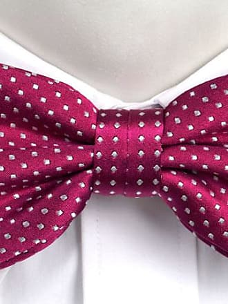 Pre tied bow tie - Pink Dots - Notch PARTAJA PINK Notch