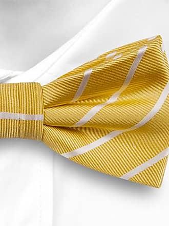 Self tie bow tie - Yellow Awning stripes - Notch JARL Notch