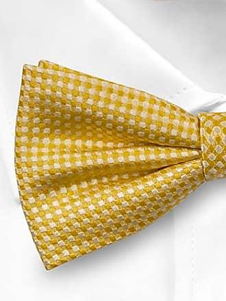 Pre tied bow tie - Yellow Snakeskin - Notch LEKFULL YELLOW Notch