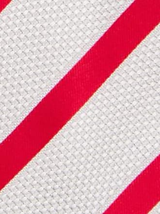 Handkerchief from Tieroom, Notch PONTUS, white stripes, red base Notch