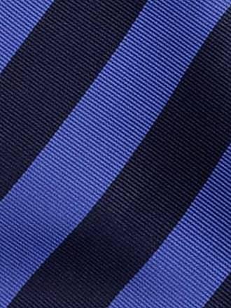 Self tie bow tie - Blue Ribbed stripes - Notch FABIAN Notch