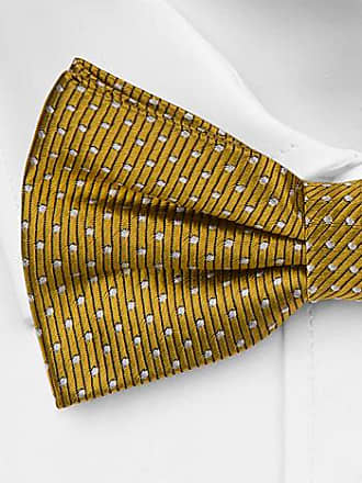 Self tie bow tie - Yellow Snakeskin - Notch LEKFULL YELLOW Notch