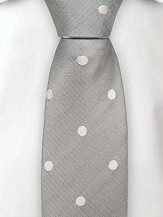 Slim tie - Solid stone grey velvet with floral flipside Notch