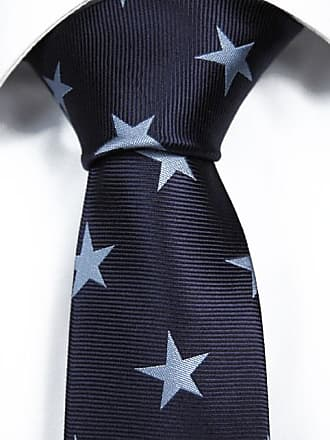 Handkerchief from Tieroom, Notch BENGT, marine blue base & light blue stars Notch