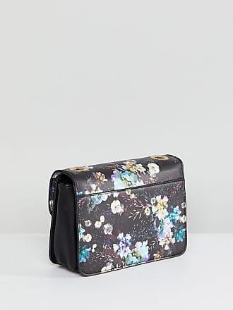 Floral Print Cross Body Bag - Multi green Oasis