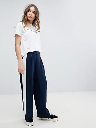Roma Panelled Trousers - Night sky Only