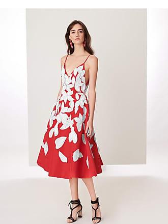 Oscar De La Renta Woman Grosgrain-trimmed Duchesse-satin Gown Crimson Size 8 Oscar De La Renta