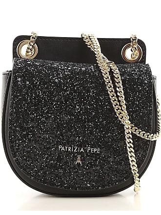Womens Pouch On Sale, Silver, Glitter, 2017, one size Patrizia Pepe