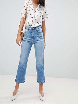 Kew - Jean évasé coupe courte - BleuPepe Jeans London