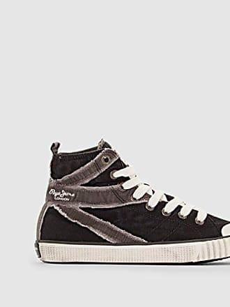 Pepe Jeans London INDUSTRY FLAG Damen Hohe Sneakers