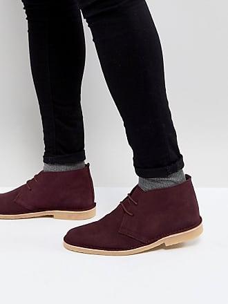 Desert boots en daim - Marron - NoirPier One