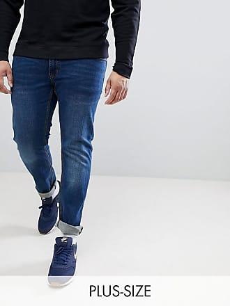 PLUS Mick Regular Fit Jeans In Blue - 597 blue Replika 03PY