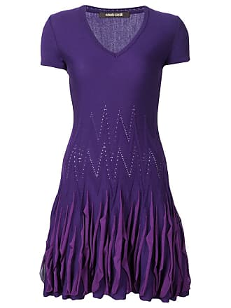 Dress for Women, Evening Cocktail Party On Sale, Ecru, Viscose, 2017, 10 12 14 8 Roberto Cavalli