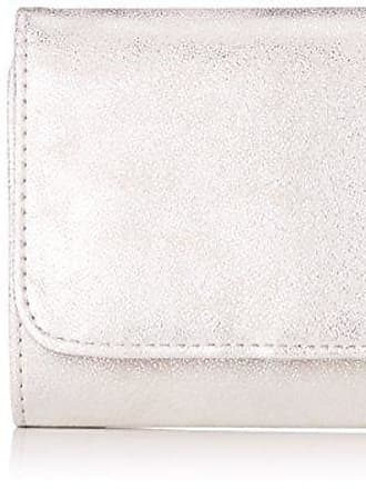 Portemonnaie, Womens Wallet, Silver, 2,5x10x15 cm (B x H T) s.Oliver