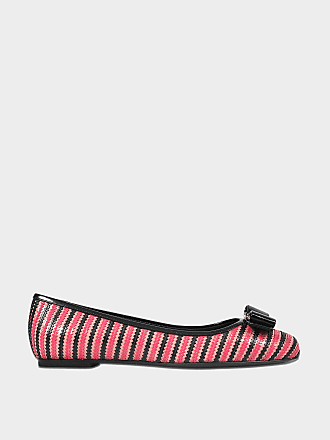 Lampio Logo Optik Schuhe aus silber Seide und Nappaleder Salvatore  Ferragamo Freies Verschiffen Bester Platz Outlet 5cf150b713