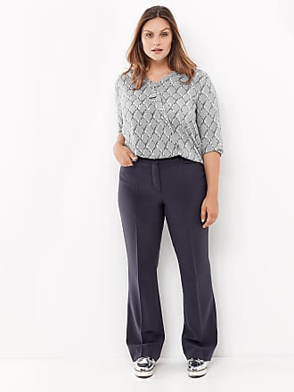 Business trousers, Greta grey female Samoon