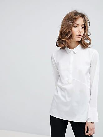 Oversize Hemd Dames White Selected