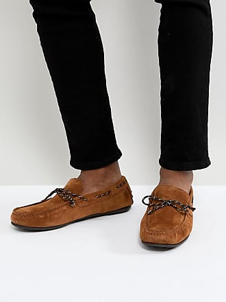Bottines Chelsea en daim - Marron - MarronSilver Street London