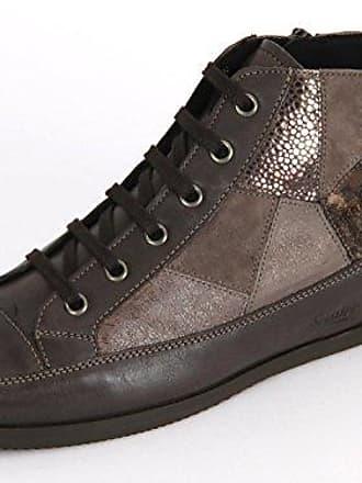 Semler Michelle, Zapatos de Cordones Brogue para Mujer, Gris (Jeans 071), 42.5 EU