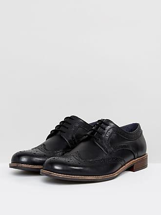 Scarpe Geox elegante molto comodo Budapester Scarpe da uomo in vera pelle nero eu 42