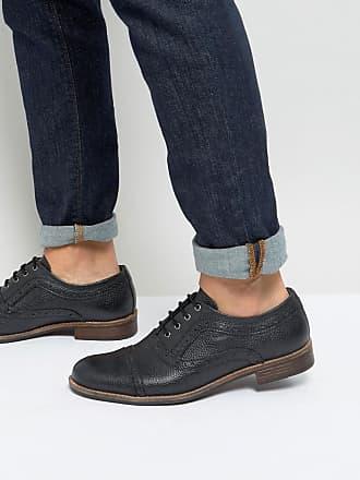 Soho - Chaussures richelieu en cuir - Noir - NoirSilver Street London