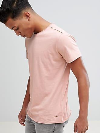 Slub T-Shirt with Palm Tree Print - 4203 Solid