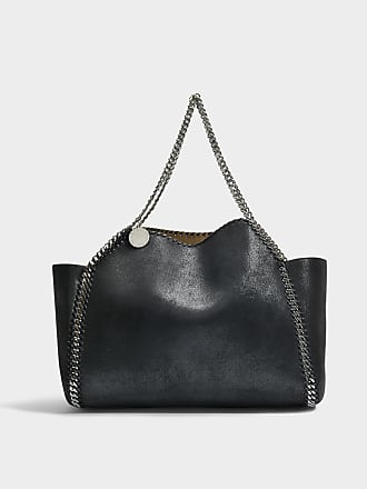 Stella McCartney Tote Bag Oversize East West Stella Logo en Eco-Cuir Blanc