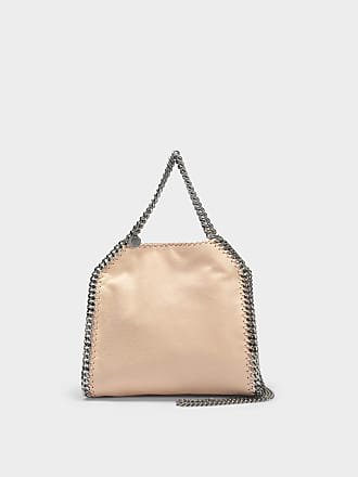 Stella McCartney Mini Tote Bag Shaggy Deer Black Chain Falabella en Eco-Cuir Noir
