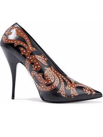 Stella McCartney Woman Iridescent Faux Leather Pumps Fuchsia Size 36.5