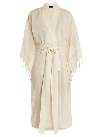 Kalaci linen-blend cover up SU Designs