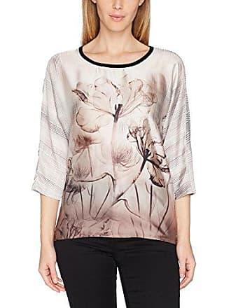 Taifun Mousse AU Chocolat, Camiseta de Manga Larga para Mujer, Braun (Cognac Melange 70437), 42