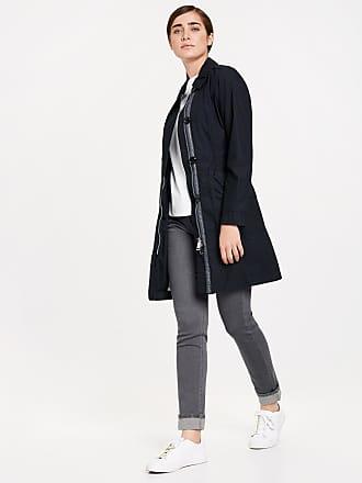 TAIFUN Mantel nicht Wolle »Trenchcoat aus Baumwolle«, blau, Marine Taifun