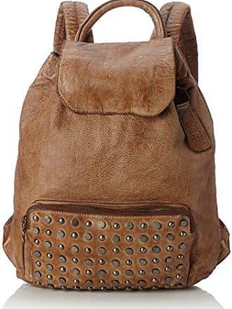Td0036g, Womens Backpack Handbag, Grau, 3.5x37x37 cm (B x H T) Taschendieb