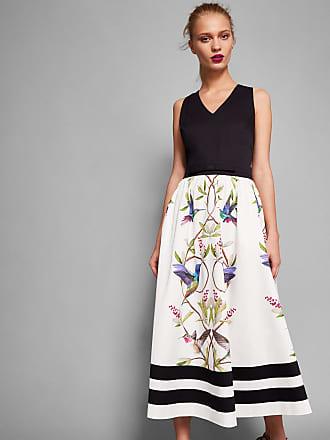 Kleid Mit Highgrove-stickerei Ted Baker
