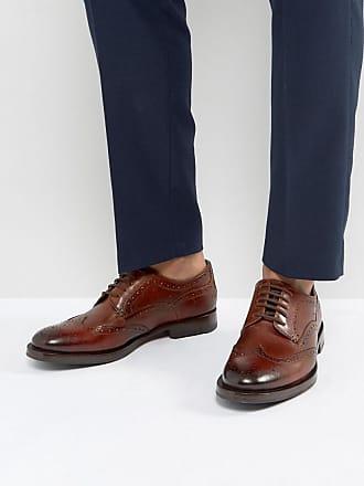 Senape - Chaussures richelieu en daim - Bleu marine - NavyTed Baker